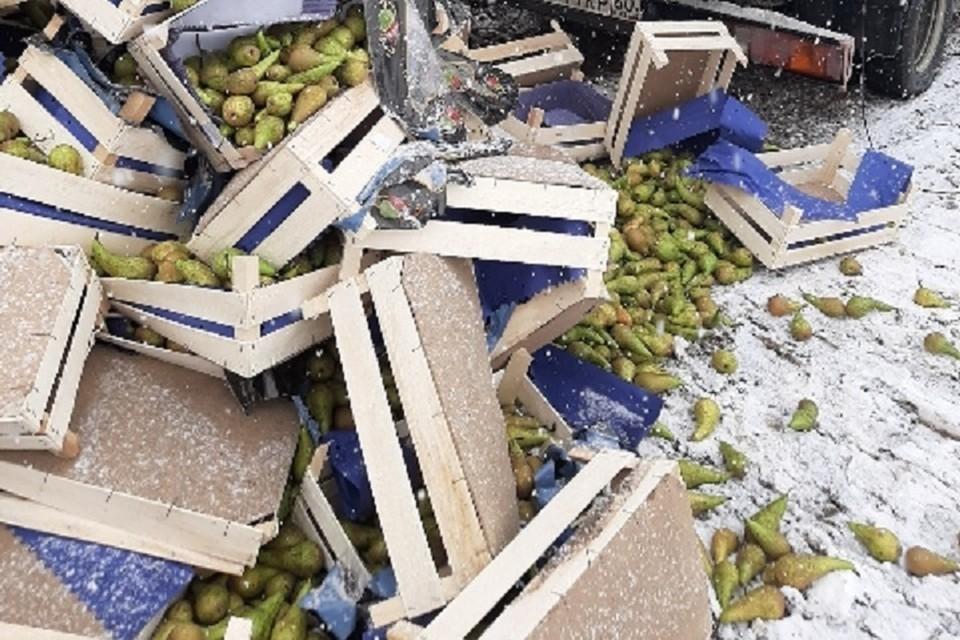 Россельхознадзор уничтожил полторы тонны польских груш.