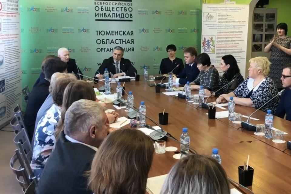 Новые социальные инициативы Александра Моора для инвалидов. Фото: скриншот с видео