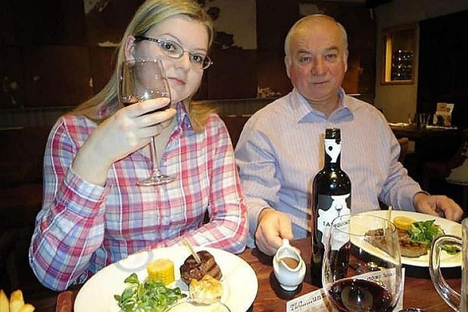 Юлия и Сергей Скрипали.