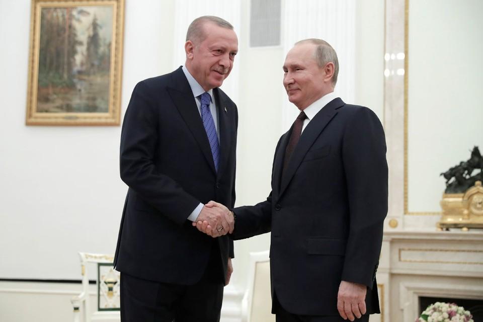 Встреча Владимира Путина и Реджепа Таипа Эрдогана была иллюстрацией поговорки про гору, которая не идет к Магомету.