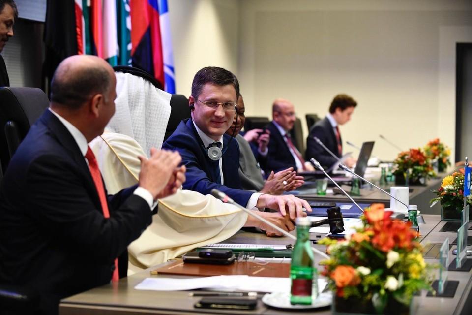Александр Новак сообщил, что итогом встречи ОПЕК+ стало подписание документа о продолжении взаимодействия внутри хартии