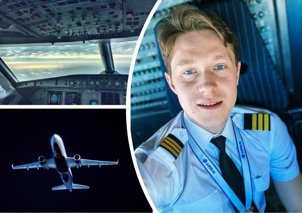 Святослав работает пилотом три года. Фото: slviip/instagram.com