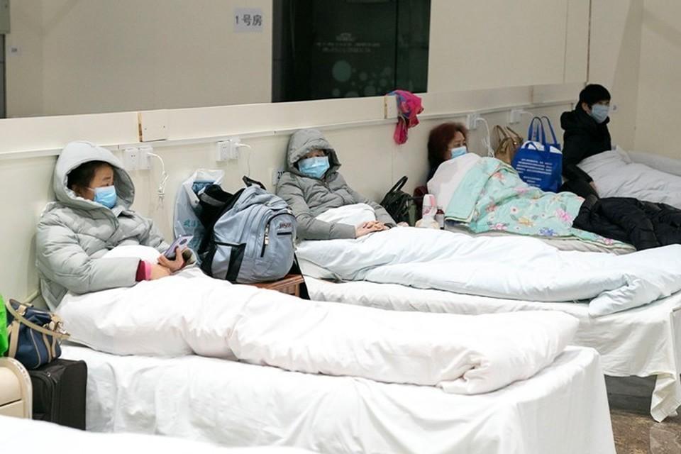 В больницах Китая остаются 20 533 человека