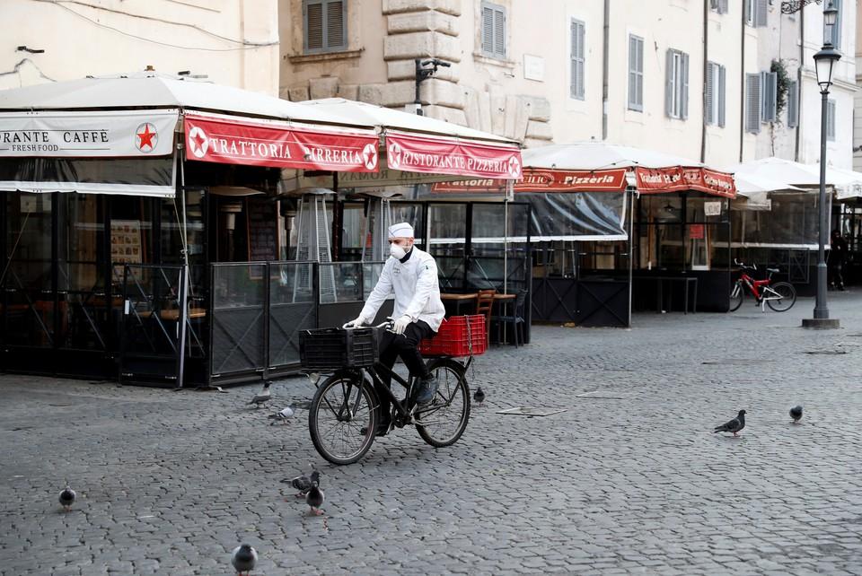 В Италии объявлен карантин из-за коронавируса.