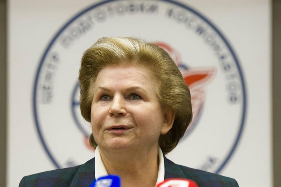 Генерал-майор Валентина Терешкова.