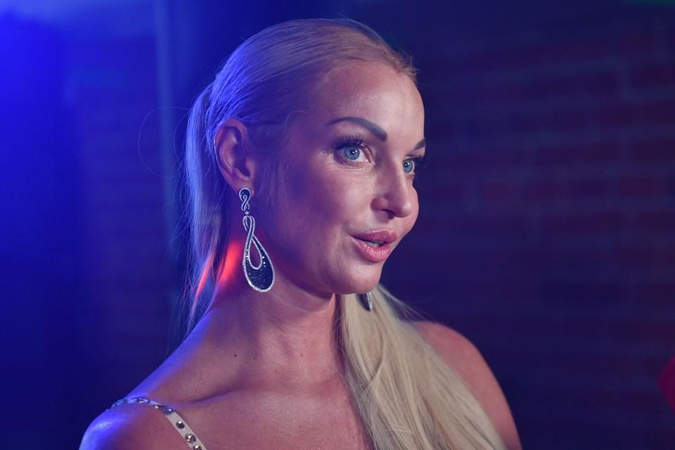Анастасия Волочкова - известная любительница банных процедур и закалки
