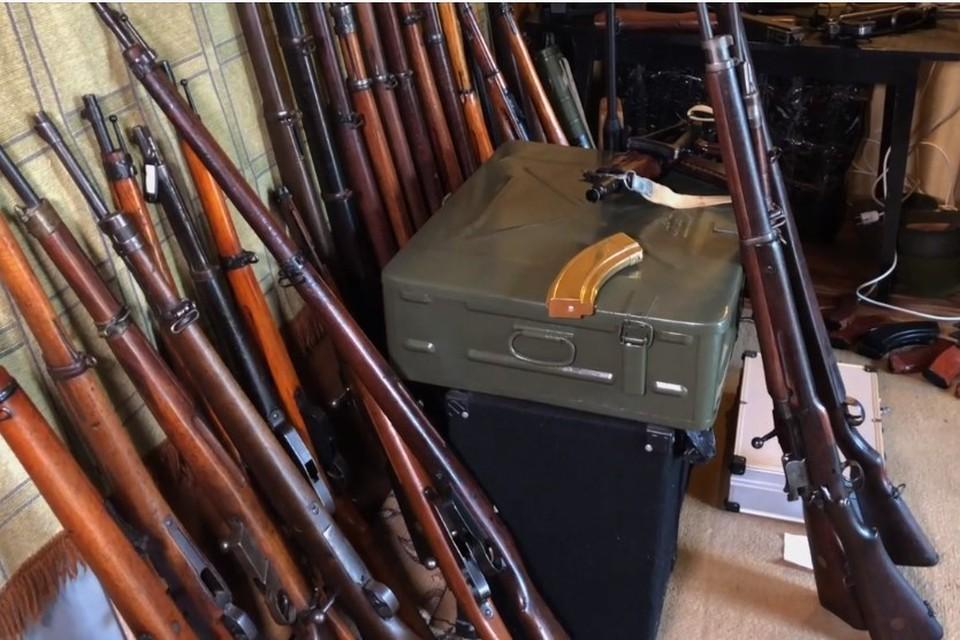 В нелегальных мастерских занимались модернизацией оружия