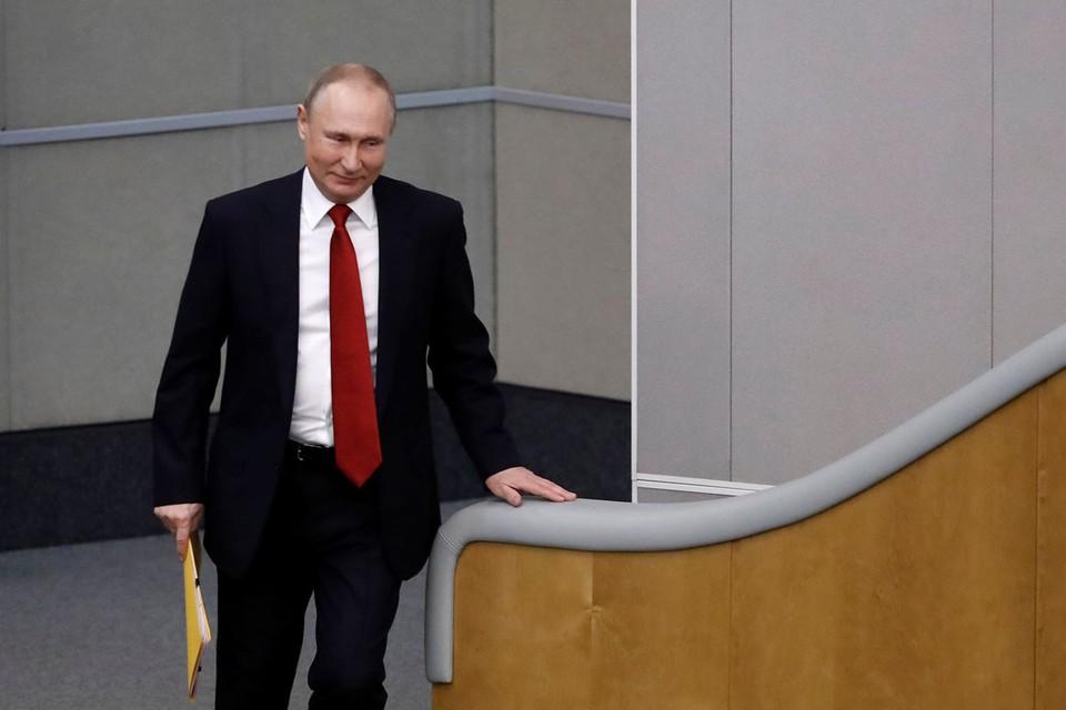 Путин заявил, что Россия будет наращивать усилия по борьбе с коронавирусом. Фото: Антон Новодержкин/ТАСС