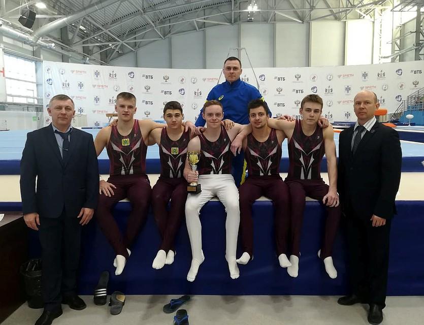 Лучшие томские гимнасты едут на чемпионат России