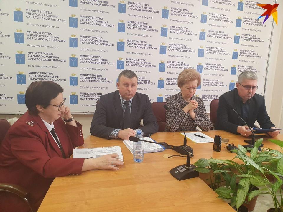 В саратовском Минздраве обсудили меры по предотвращению распространения коронавируса