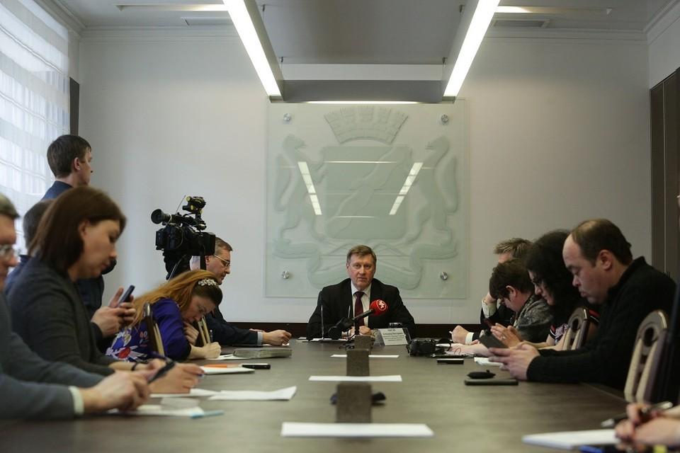 Мэр Анатолий Локоть о том, как Новосибирск переживет следующую неделю.