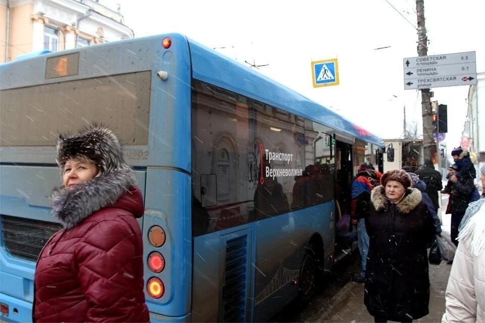 В Твери троллейбус №3 заменят на автобус №43
