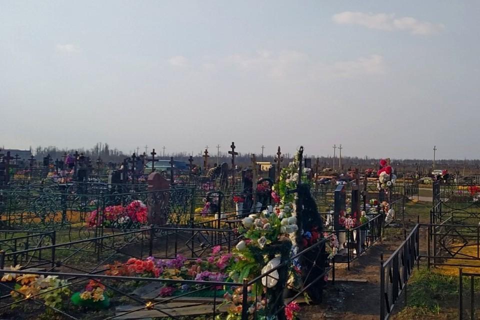 В Липецке закрыли кладбища