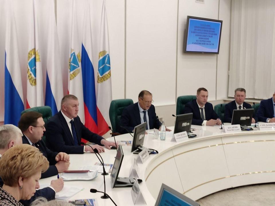 Правительство Саратовской области приняло жесткие меры по ограничению перемещения в период изоляции