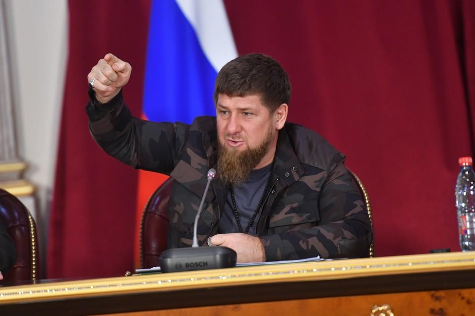 Рамзан Кадыров вводит тотальный режим самоизоляции