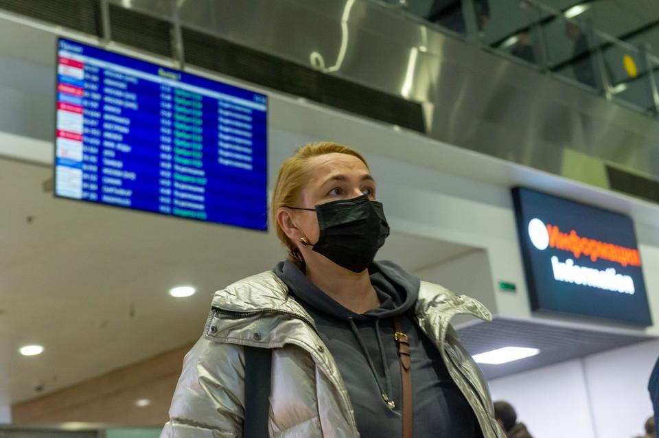 В аэропорту Пулково проверяют самолеты
