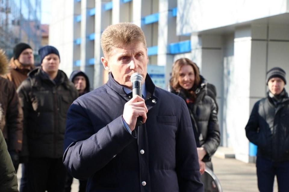 Губернатор Приморья Олег Кожемяко утвердил список организаций, которые будут работать с 4 по 30 апреля в условиях полной самоизоляции