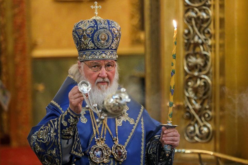 Объезд Москвы завершился в Богоявленском кафедральном соборе. Фото: Гавриил Григоров/ТАСС