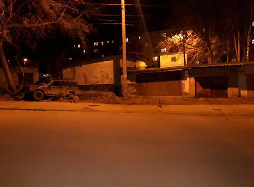 Авария произошла вечером на улице Крайней в Красноглинском районе