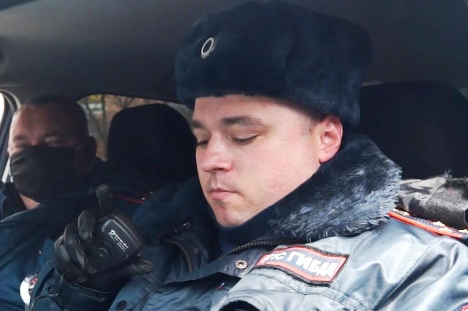 Полиция разгоняет граждан по домам. Фото: МВД по ПК