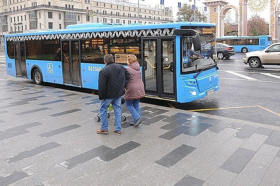 В Москве скорректирована работа общественного транспорта