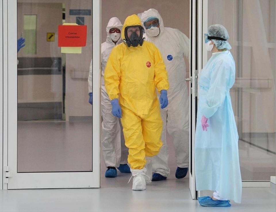 Президент во время визита в московскую больницу. Фото: Алексей Дружинин/ТАСС