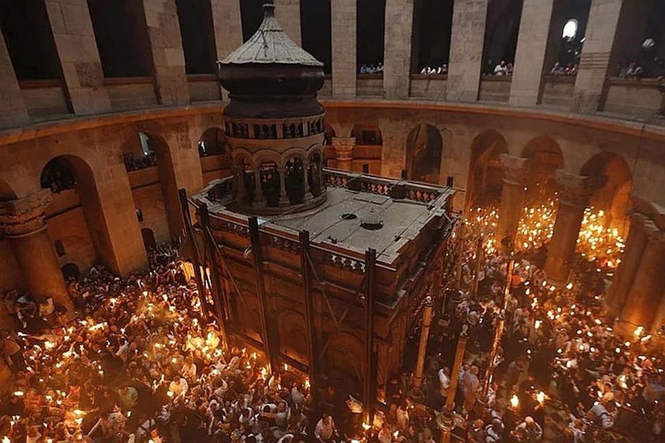 В Москву Благодатный огонь будет доставлен на важный праздник богослужебного года Пасху