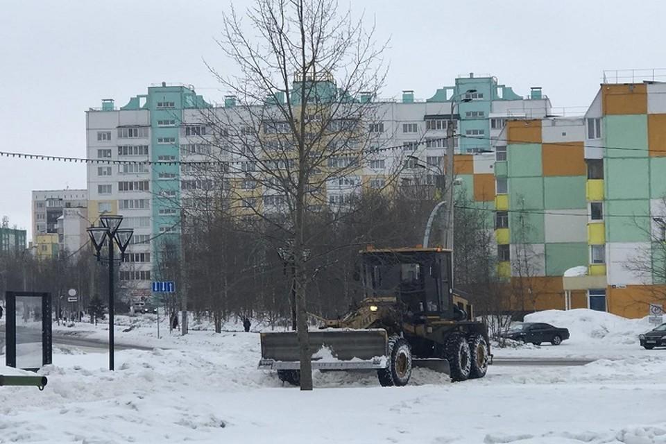 Мэр Ноябрьска попросил усилить контроль за уборкой снега Фото: администрация Ноябрьска