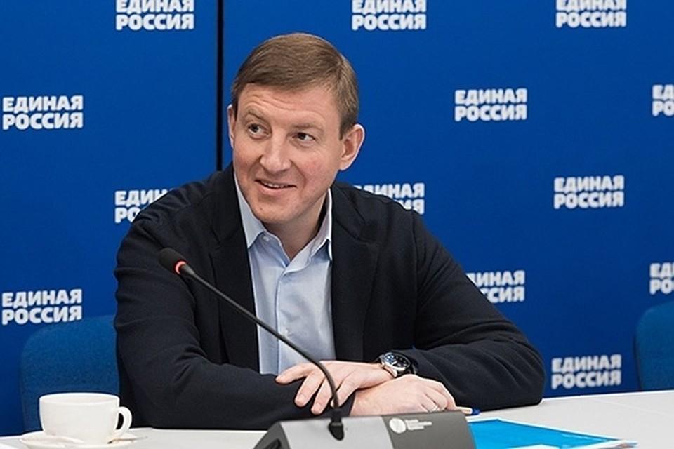 Cекретарь Генсовета «Единой России» Андрей Турчак.