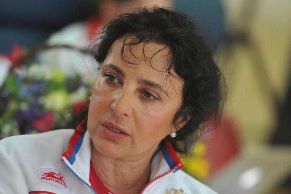 Главный тренер сборной России по художественной гимнастике Ирина Винер