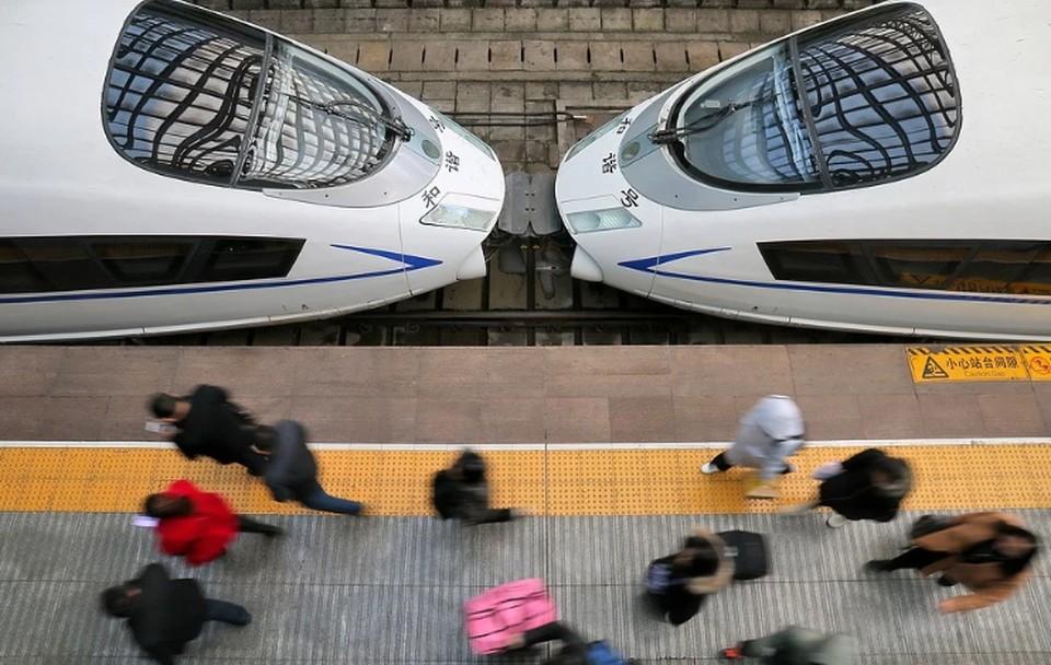 В Пекине «умные» поезда будут выявлять пассажиров без масок