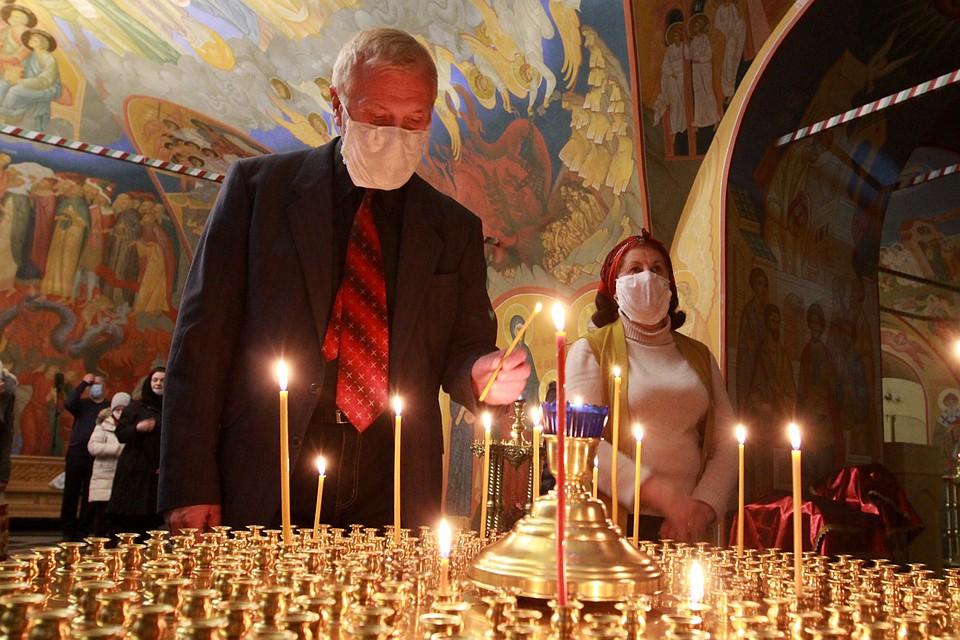 Празднование Пасхи в Иркутске.