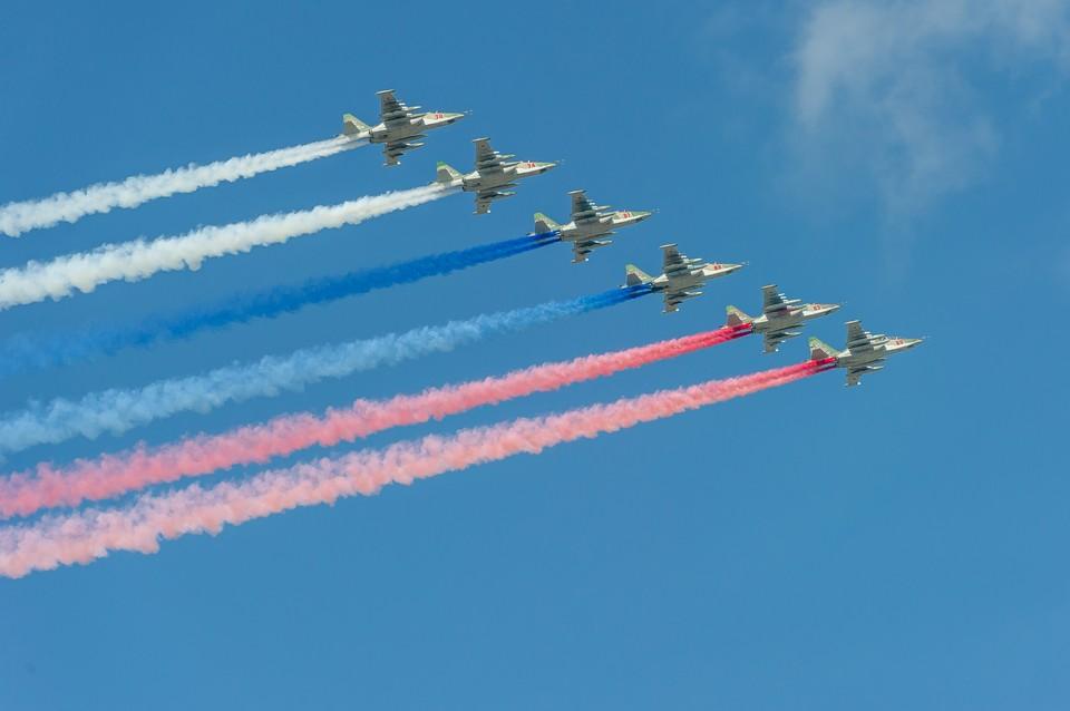 9 мая 2020 года военная авиация пролетит над Петербургом и еще 11 городами