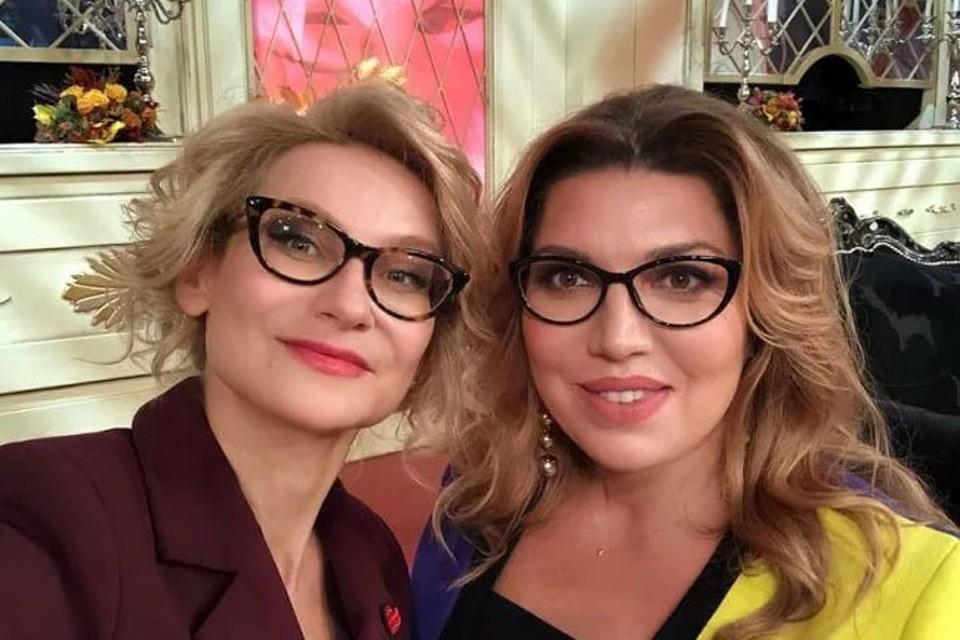 Скулкина отснялась в «Модном приговоре» с Хромченко.