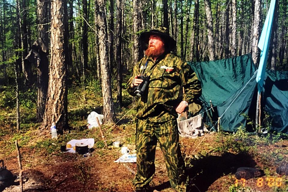 Журналист «Комсомолки» Николай Варсегов на поисках вилюйских котлов