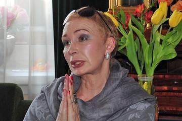 Татьяна Васильева сквозь слезы рассказала о своей болезни