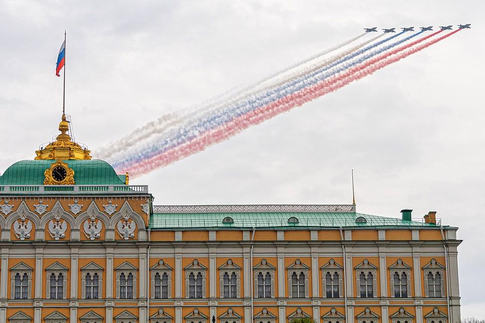 Парад-2020 станет самым масштабным по числу задействованных воздушных судов.