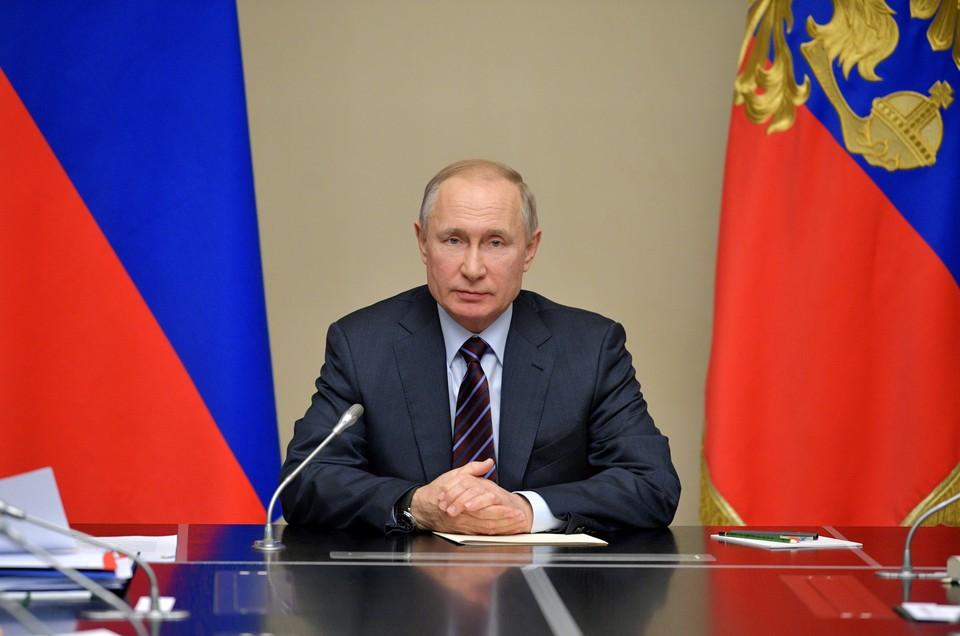Президент России Владимир Путин проведет совещание