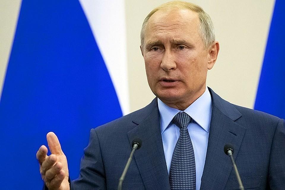 Владимир Путин сообщил о новом пакете мер поддержки граждан на фоне пандемии коронавируса