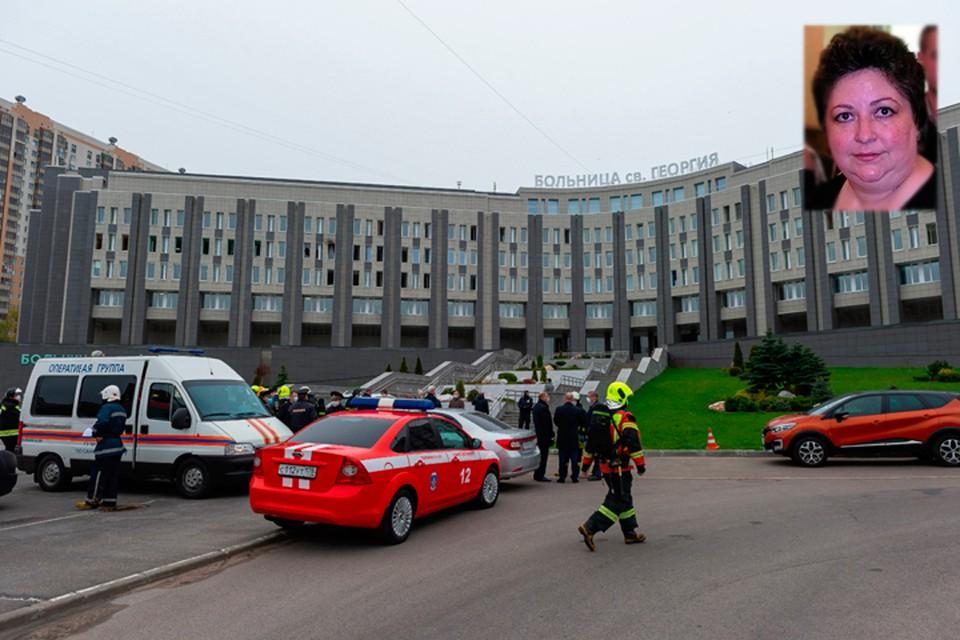 У погибшей на пожаре в больнице Святого Георгия женщины было только подозрение на коронавирус.