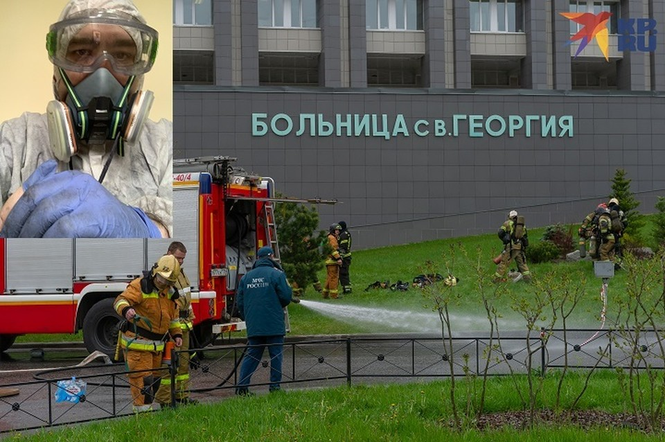 Врач спасал пациентов из пожара