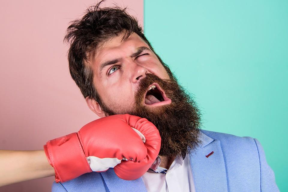 Бородатого боксера труднее отправить в нокаут, чем бритого. Научный факт.