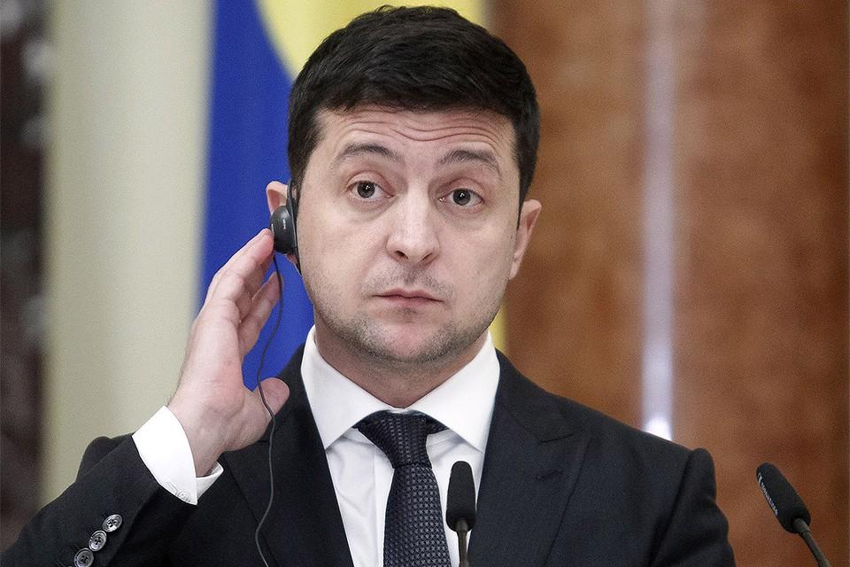 Президент Украины Владимир Зеленский.