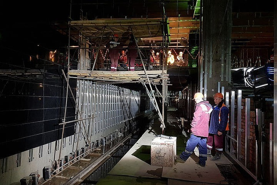 В московском метро началось строительство нового туннеля