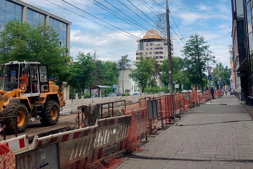 Ремонт труб на Молодогвардейской уже завершили. Там открывается автомобильное движение.
