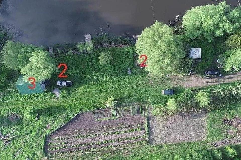 Аэроснимок с места трагедии Фото: Антон Геращенко
