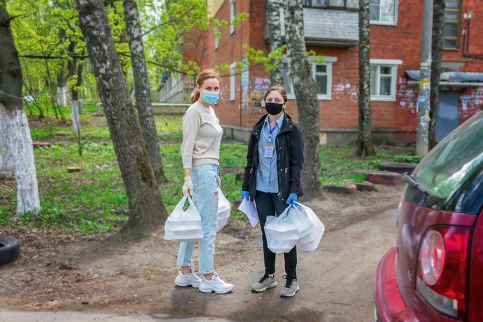 Волонтеры штаба #МыВместе откликнулись на просьбы нижегородцев о помощи уже 43000 раз. ФОТО: ОНФ Нижегородской области