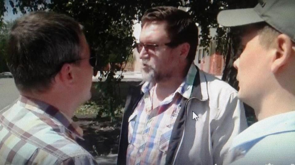 Задержание Николая Истомина Фото: УouTube-канал Свободная пресса