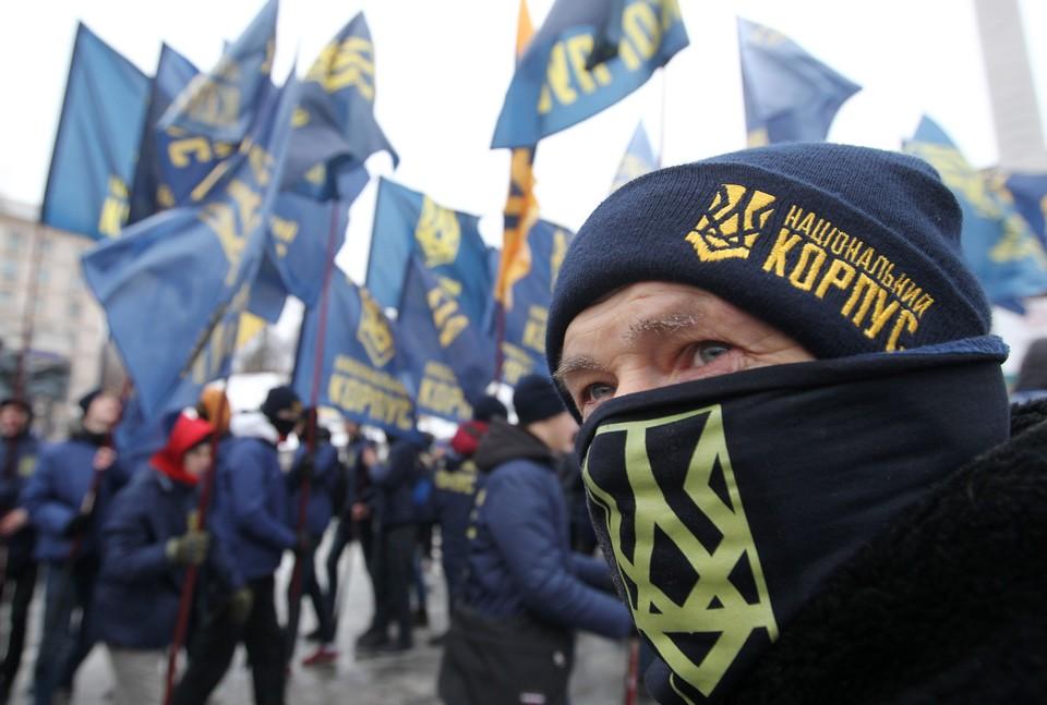 Среди воюющих на Донбассе националистов - 70 преступников.