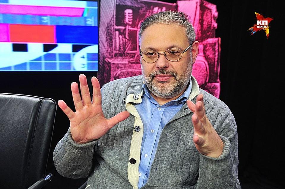 Экономист Михаил Хазин.